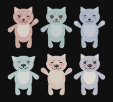 Funny Cats Kids Tee