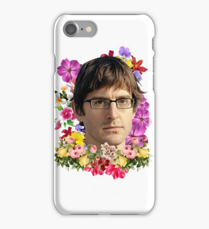Louis Theroux Floral iPhone Case/Skin