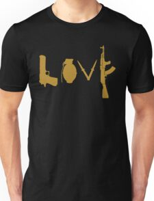Love Golden Gun Unisex T-Shirt