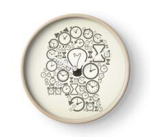 Hours a head Clock