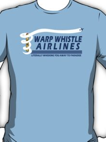 Warp Whistle Airlines T-Shirt