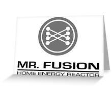 Mr.Fusion Greeting Card