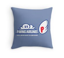 P-Wing Airlines Throw Pillow