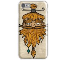 Sweet Nordic Blond Viking w.background iPhone Case/Skin