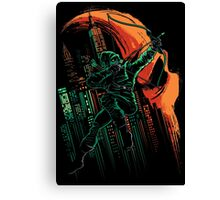 Green Vigilance Canvas Print