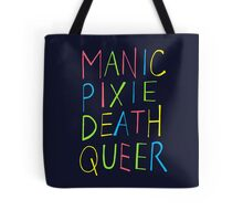 Manic Pixie Death Queer Tote Bag