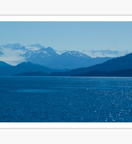 Prince William Sound, Alaska Sticker