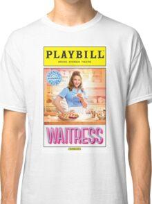 Waitress Opening Night Playbill Classic T-Shirt