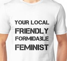 Friendly Feminist Unisex T-Shirt