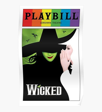 Wicked Pride Playbill Poster