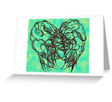 Never Tear Us Apart- Alternate Color Greeting Card