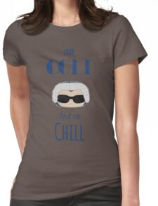 Captain Cold Womens Fitted T-Shirt