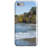 Beach Rock Wall iPhone Case/Skin