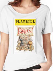 Something Rotten Playbill Women's Relaxed Fit T-Shirt