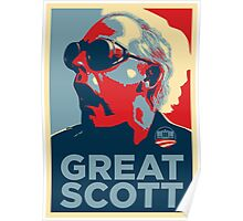 'Great Scott' (Obama style) Poster