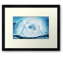 The Boy in the Iceberg  Framed Print