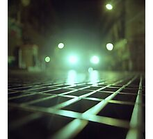 Grid city streets Hasselblad square medium format analogue film photograph Photographic Print