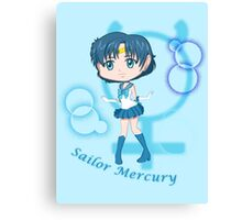 Chibi Chibi Sailor Mercury Canvas Print