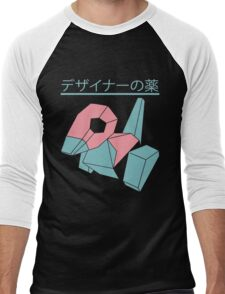 Vaporwave Pokemon Men's Baseball ¾ T-Shirt