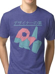 Vaporwave Pokemon Tri-blend T-Shirt