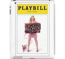 Legally Blond Playbill iPad Case/Skin