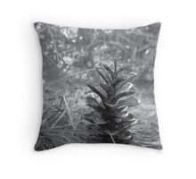 Stand Tall in Nature Throw Pillow