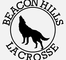 Beacon Hills lacrosse jersey by Samantha Lusher