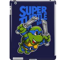 Super Turtle Bros - Leo iPad Case/Skin