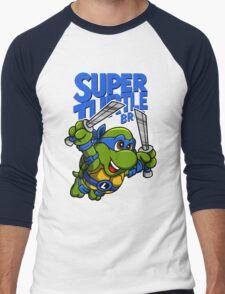 Super Turtle Bros - Leo Men's Baseball ¾ T-Shirt