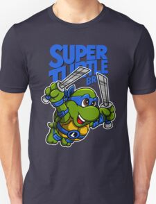 Super Turtle Bros - Leo T-Shirt