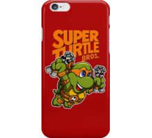 Super Turtle Bros - Mikey iPhone Case/Skin