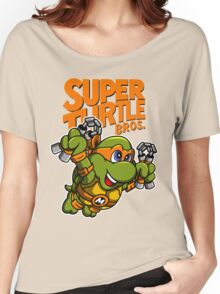 Super Turtle Bros - Mikey Women's Relaxed Fit T-Shirt