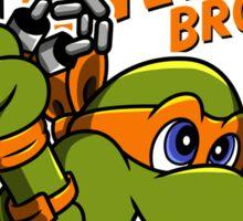 Super Turtle Bros - Mikey Sticker