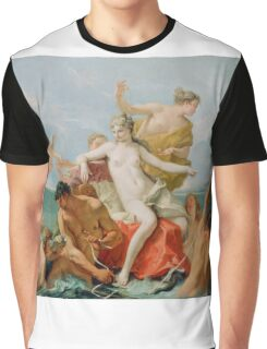 Triumph of the Marine Venus - Sebastiano Ricci - ca. 1713 Graphic T-Shirt