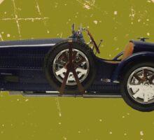 Vintage Wheels: Bugatti 35B Sticker