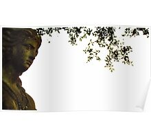 Aztec Goddess Under Tree Poster