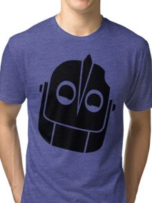 Smiling Iron Giant Vector Tri-blend T-Shirt
