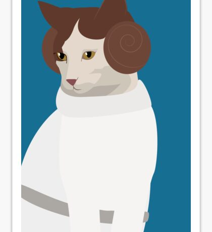 Princess Catwalker Sticker
