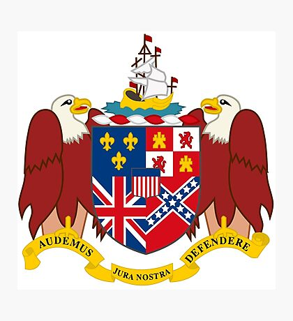 Alabama coat of arms Photographic Print