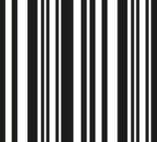 BARCODE-0 Sticker
