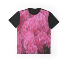 Bright Pink Springtime Blossoms Graphic T-Shirt