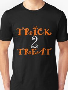TRICK TWO TREAT Unisex T-Shirt