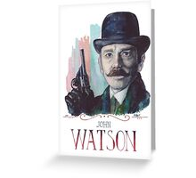John Watson: Sherlock BBC Greeting Card