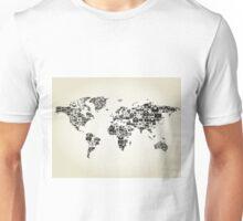 Letter map Unisex T-Shirt