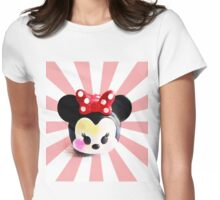 Minnie Womens Fitted T-Shirt