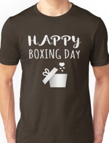 Boxing Day Christmas Holiday Traditions Unisex T-Shirt