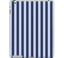 Stripes Navy Light Blue iPad Case/Skin