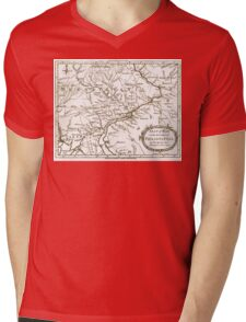 Philadelphia Region - Pennsylvania - United States - 1777 Mens V-Neck T-Shirt