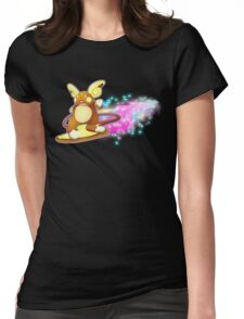 Psychic Surfer Womens Fitted T-Shirt