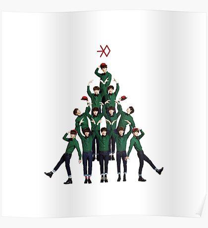Exo - Christmas Poster